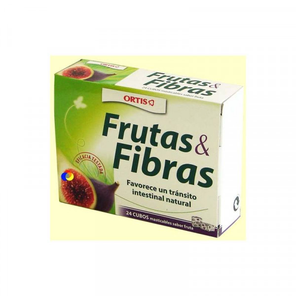 Frutas y fibras 24 cubitos ortis formula laxante - Frutas diureticas y laxantes ...